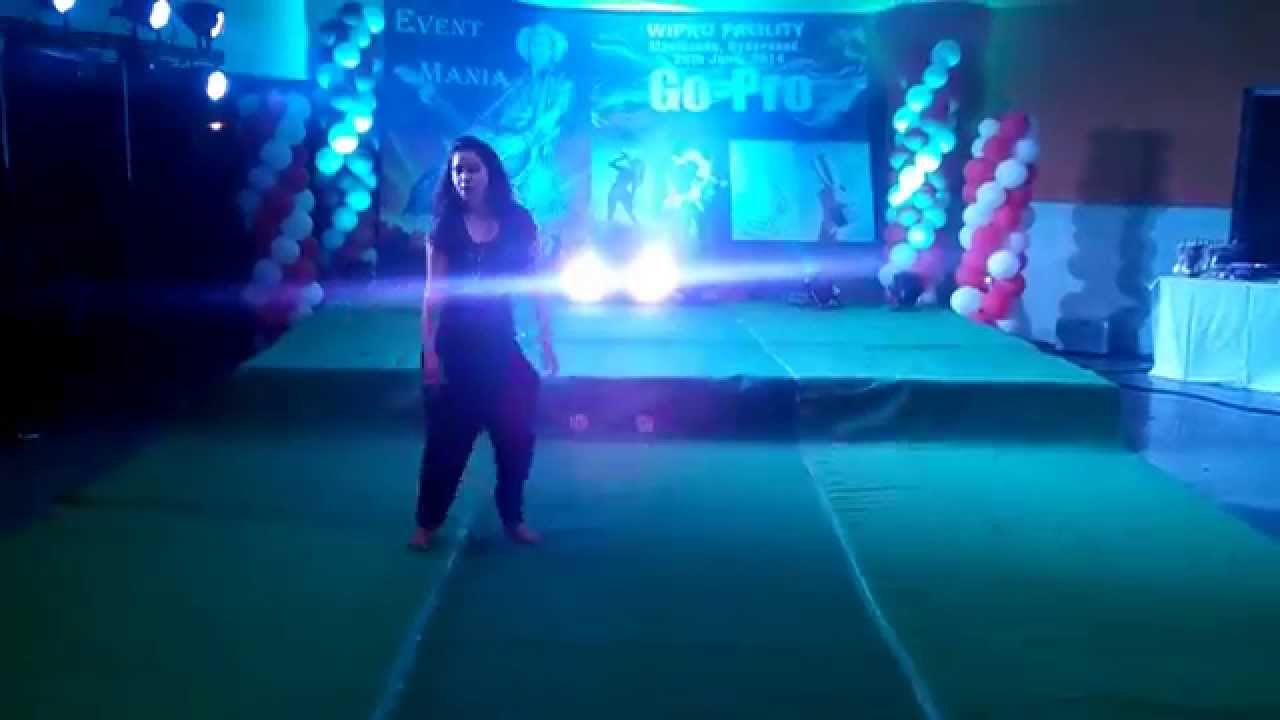 Sneha Reddy Dance in Gopro Event June 2014 - YouTube