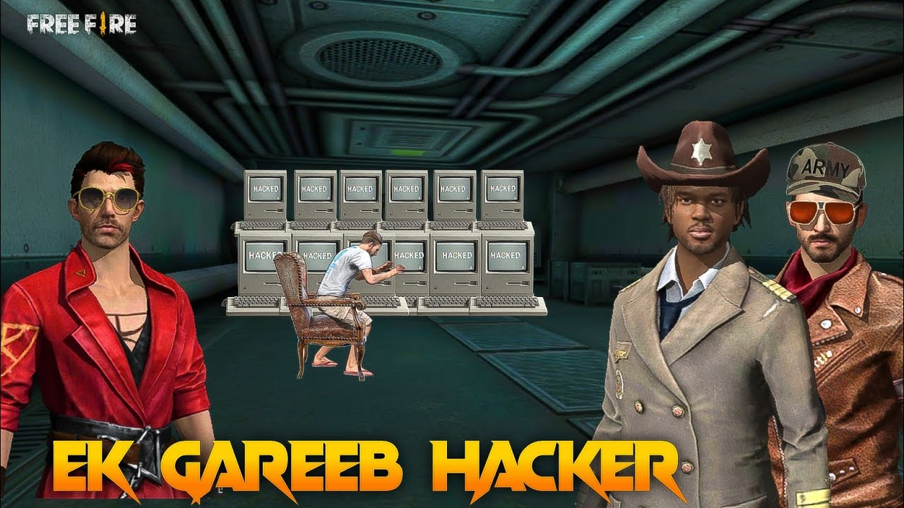 Gareeb Bana Hacker [ गरीब बना हैकर ]  Free fire Short Emotional Story in Hindi || Free fire Story