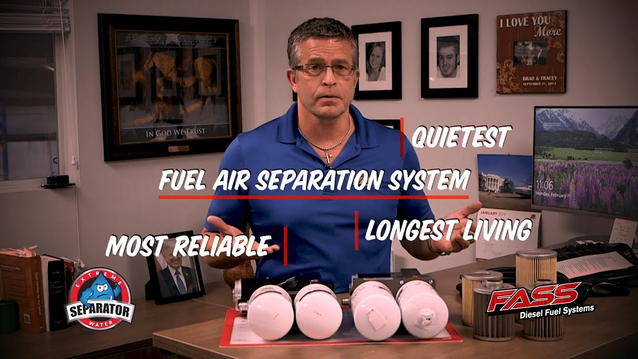 NEW FASS Signature Series Diesel Fuel System
