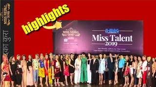 Miss Nepal 2019: Talent competition highlights (All contestants)