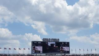 f22 raptor flyover at aggie game september 3 2016