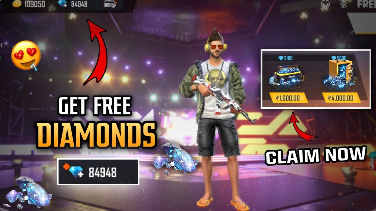 HOW TO GET FREE DIAMONDS IN FREEFIRE 2020 ! - GET FREE 1200 DIAMONDS 💎 - REALITY FULL DETAILS.