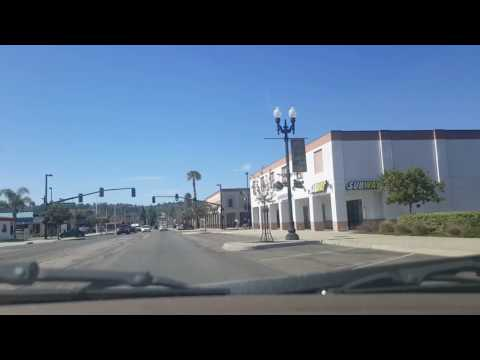Driving through El Cajon California