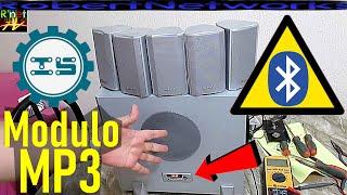 Como Adaptar Modulo MP3 y Bluetooth a Teatro En Casa de 5.1 Canales Con Diagrama - RobertNetworks