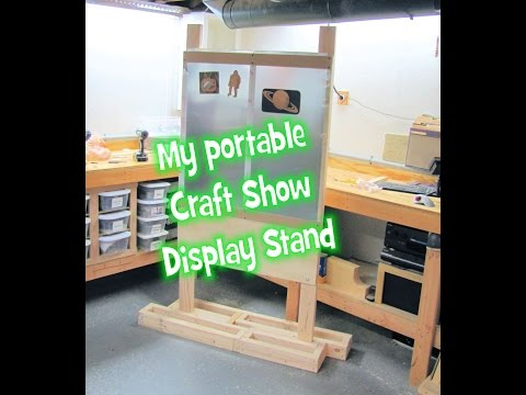 My portable display stand for a craft show