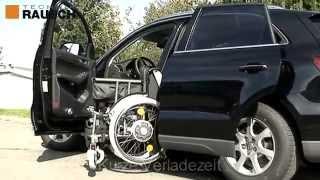 Behindertenfahrzeug mit Stil. Der Audi Q5 mit Rollstuhlverladehilfe LADEBOY S2.