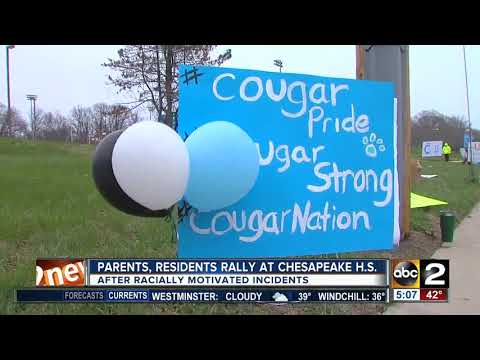 Parents, residents rally at Chesapeake High School