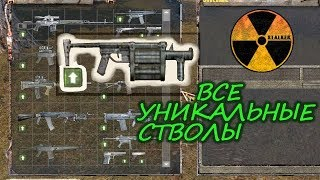 Stalker Shadow of Chernobyl: All unique guns
