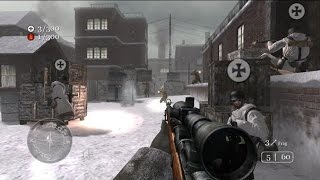 Call of Duty: Classic Multiplayer TDM #1 Harbor - Sniper Gameplay