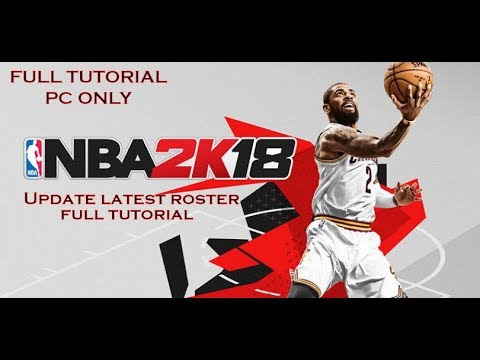 Easiest Way To Update NBA2k18 (2018-2019) To Latest Roster Full Tutorial