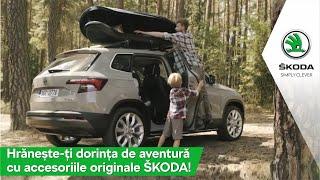 Accesoriile originale ŠKODA. Pentru  un weekend memorabil!