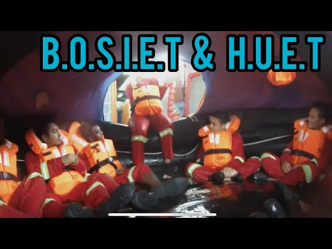 BOSIET and HUET Offshore Training at SEQU Kuala Lumpur