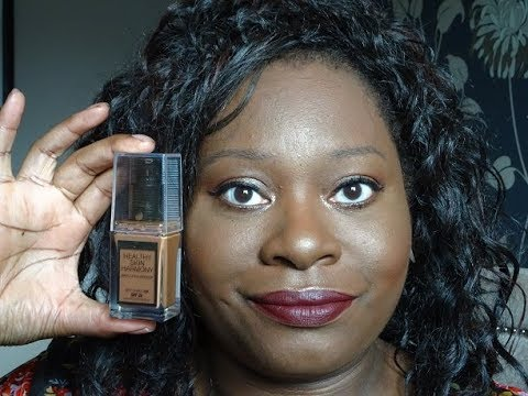 NEW Max Factor Healthy Skin Harmony Foundation All Day Wear Test on Oily Skin