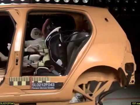 Recaro Monza Nova 2 Seatfix CRASH TEST