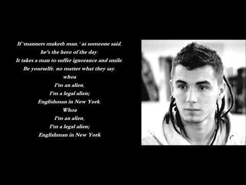 Kamil Bednarek I Anna Deko- Englishman In New York (RMF FM) Cover) Lyrics (tekst)