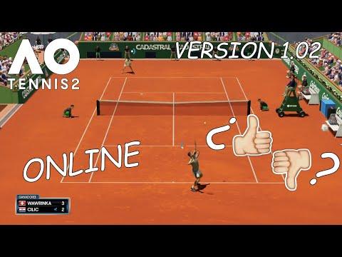 AO Tennis 2 PS4 Gameplay | Así Va el Online Un Mes Después... | marratxiboy