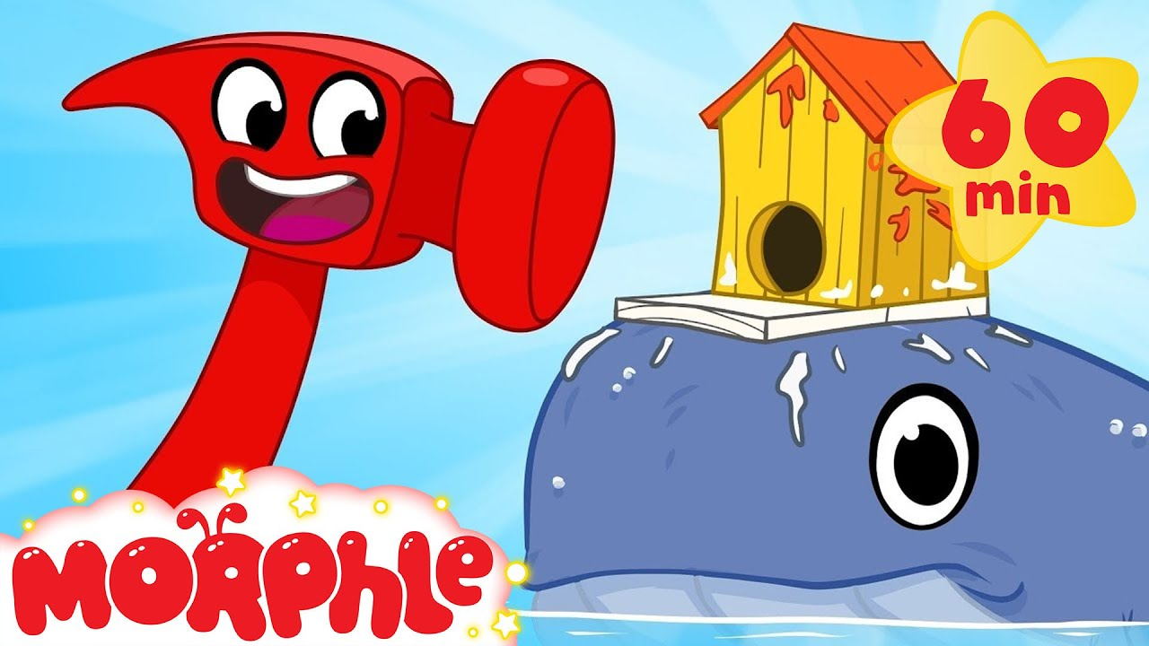 Building Animal Houses With Mila And Morphle! Crafts and Creativity Cartoons For Kids