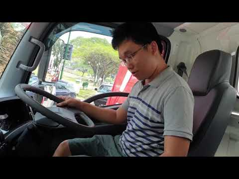 Just tried an Isuzu lorry with automated manual transmission | EvoMalaysia.com