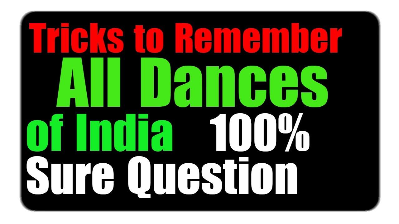 Folk dances of india | Tricks to Remember | GK TRICKS