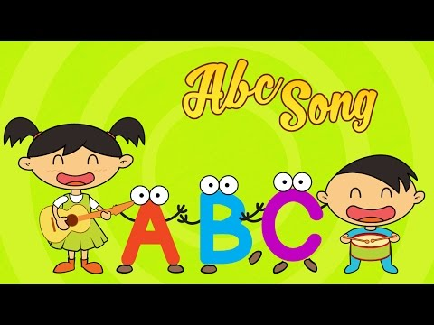 ABC Song (The Alphabet Song) | A to Z Rhymes | Nursery Rhymes for Kids by Luke & Mary