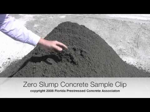What is Zero Slump Concrete Video?