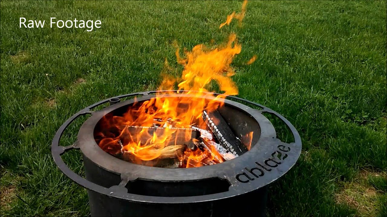 Ablaze How the Smoke Less Fire Pit Works  YouTube