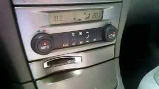 Renault Laguna 2 naprawa podświetlenia climatronica