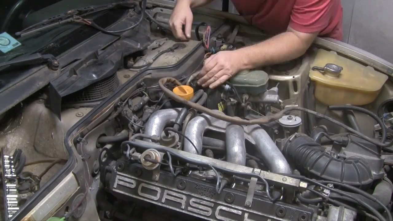 Image result for removing a 944 engine