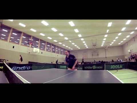 Great table tennis shots - Go Pro 2013