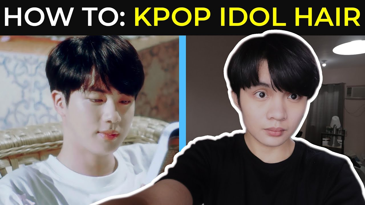 Kpop Hairstyle - BTS Jin Hairsyle from BTS (방탄소년단) 'Stay Gold' Official MV | Sammy Ame