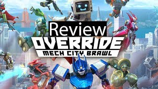 Override Mech City Brawl Xbox One X Gameplay Review