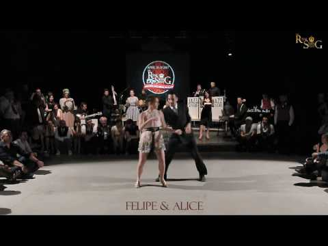 FELIPE BRAGA & ALICE MEI at THE ROYAL SWING FEST Second edition