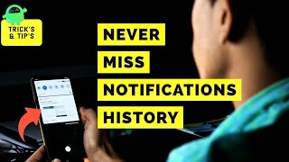 How to view y๐ur notification history on Android
