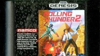 Classic Game Room - ROLLING THUNDER 2 review for Sega Genesis