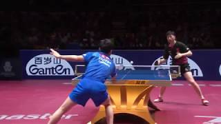 Ma Long vs Tomokazu Harimoto | 2019 ITTF China Open Highlights (1/2)