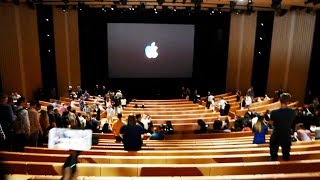 Мы на презентации Apple!