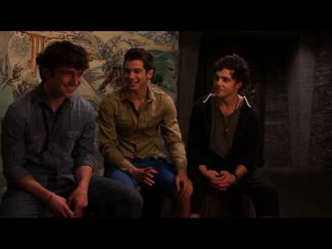 AFTER THE DARK Movie -Behind the Scenes w/ George Blagden- Toby Sebastian -Taser Hassen -Funny Clip