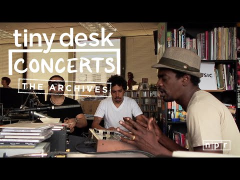 Seu Jorge: NPR Music Tiny Desk Concert From The Archives