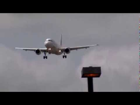 Cubana Airlines A320 Landing In Toronto On RWY 05