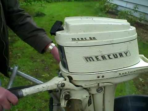 6 Hp Mercury Outboard Youtube