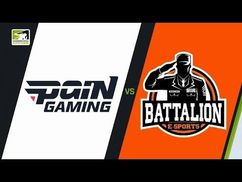 [POR] paiN Gaming vs Battalion e-Sports (Part 1) | OWC 2018 Season 1: South America