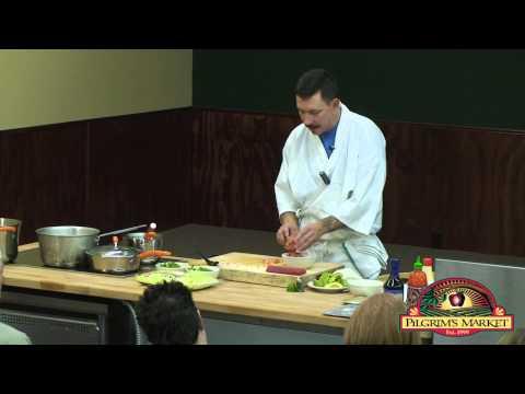 Sushi 101: Making the Sushi Roll with Viljo Basso, Syringa Japanese Cafe Chef