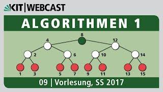 09: Algorithmen 1, Vorlesung und Übung , SS 2017
