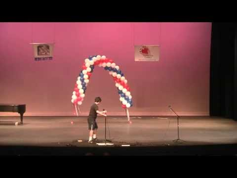 Saratoga's Got Talent 2013 GORY DETAILS Video 03/14