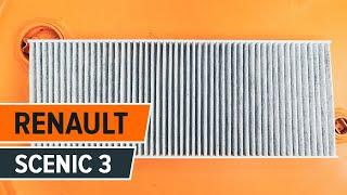 Installation Innenraumluftfilter selbst Videoanleitung auf RENAULT SCÉNIC