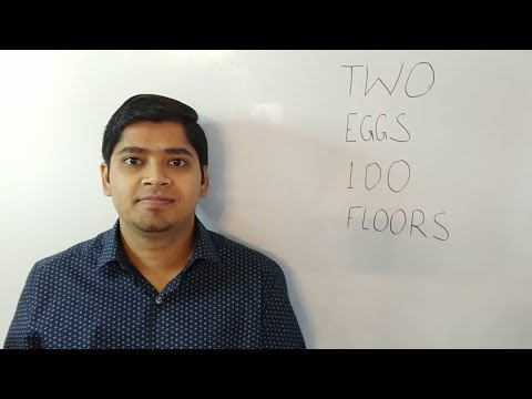 Two Eggs 100 Floors Interview Question Youtube