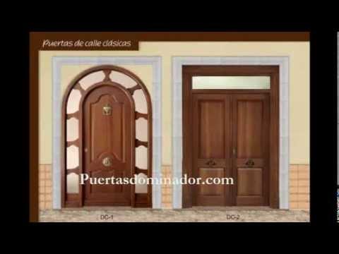 Cat logo puertas dominador youtube for Catalogo de puertas de madera modernas