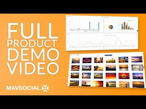 Social Media Management Software | MavSocial (Full Demo)