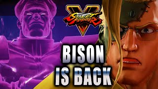 BISON IS BACK: Street Fighter 5 - Story Mode Pt. 1 w/Maximilian