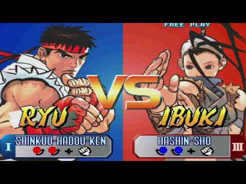 Street Fighter 30th Anniversary Collection Gameplay |